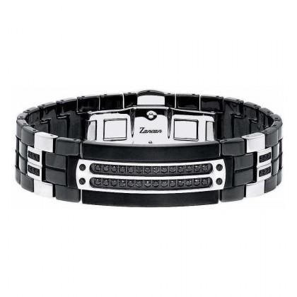 Zancan Ceramic Stainless Steel Bracelet