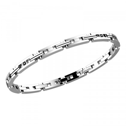 Zancan Bracelet Steel Black Spinel