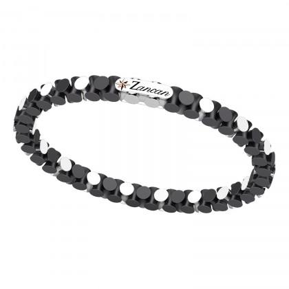 Zancan Bracelet Steel Black Ceramic