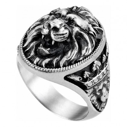 Zancan Ring Silver Size 12