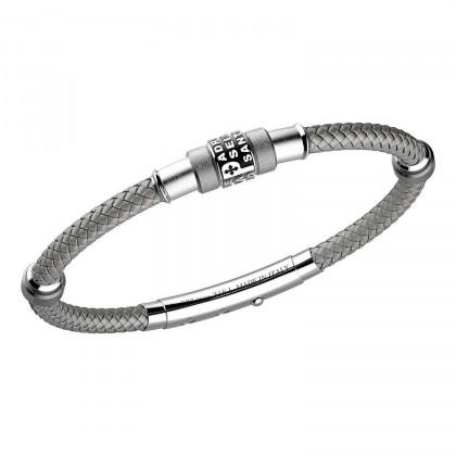 Zancan Sterling Silver Grey Bracelet
