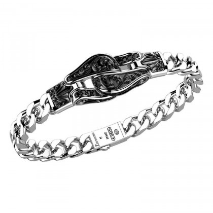 Zancan Sterling Silver Bracelet