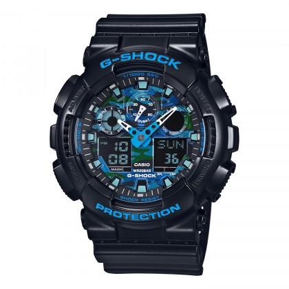 G-SHOCK Analog-Digital GA100CB-1A Men's Watch Black