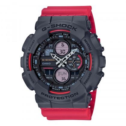 G-SHOCK Analog-Digital GA140-4A Men's Watch Red