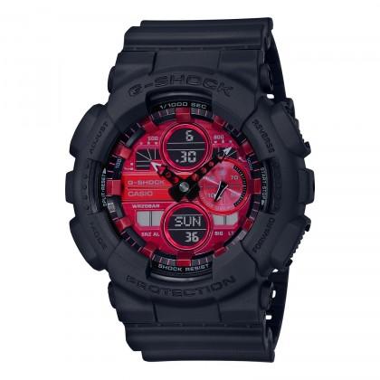 G-SHOCK Analog-Digital GA140AR-1A Men's Watch Black