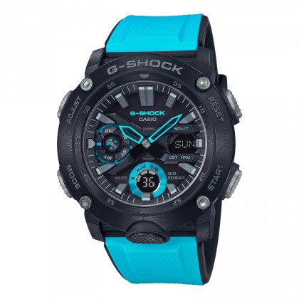 G-SHOCK Analog-Digital GA2000-1A2 Men's Watch Black