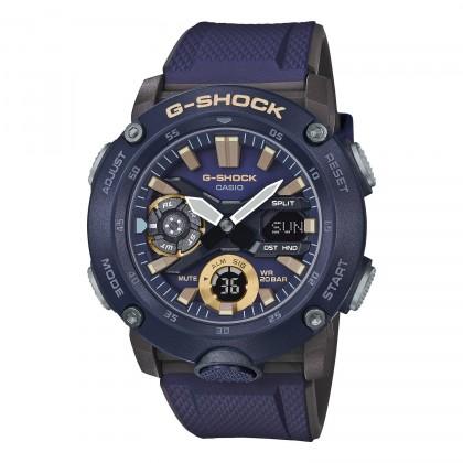 G-SHOCK Analog-Digital GA2000-2A Men's Watch Blue