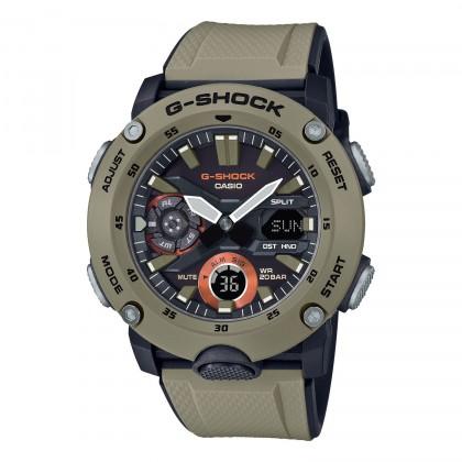 G-SHOCK Analog-Digital GA2000-5A Men's Watch Black