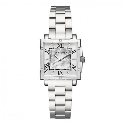 Hamilton Jazzmaster Diamond Square Lady Quartz Watch
