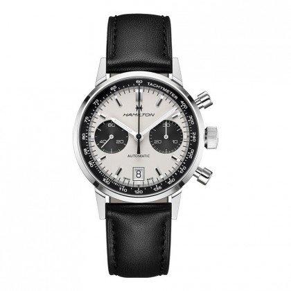 Hamilton Intramatic 68 Automatic Chronograph Panda Dial Watch