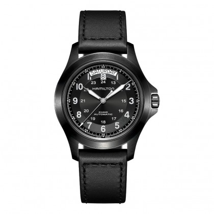 Hamilton Khaki Field King Black Auto Men's Watch