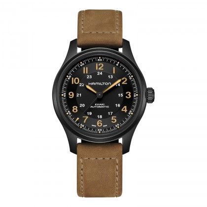Hamilton Khaki Field Titanium Automatic 42mm Watch