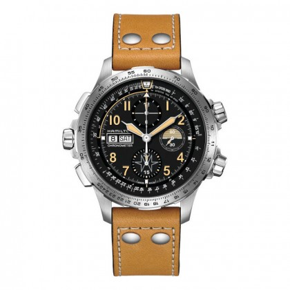 Hamilton Khaki Aviation X-Wind Day Date Auto Chrono Watch