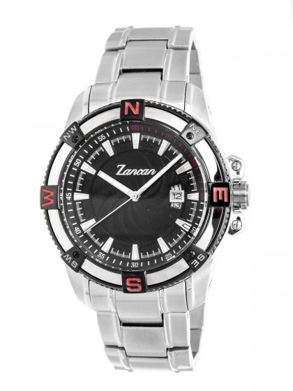 Zancan Stainless Steel Black Dial Men's Watch