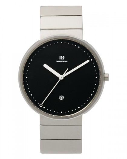 Danish Design Silver Stainless Steel Men's Watch