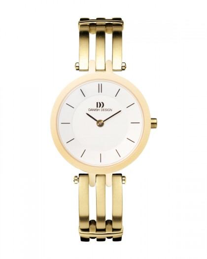 Danish Design Gold Color Titanium Women's Watch