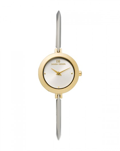 Danish Design Silver Stainless Steel Women's Watch