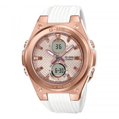 G-SHOCK G-MS MSGC100G-7A Women's Watch White