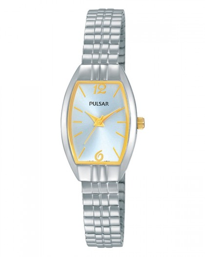 Pulsar Quartz Silver Dial Women's Watch