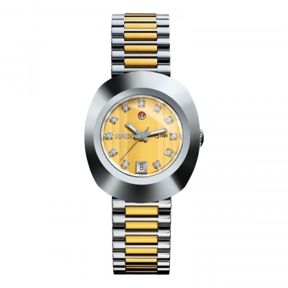 Rado Original 2 Tone Yellow Dial Watch