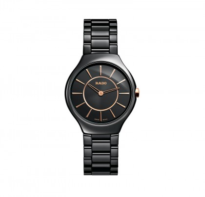 Rado True Thinline S Quartz Ceramic Women's Watch