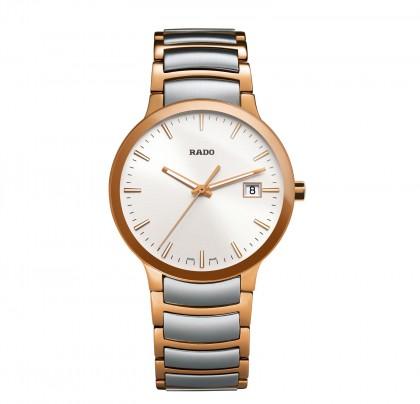 Rado Centrix L Quartz Rose Men's Watch