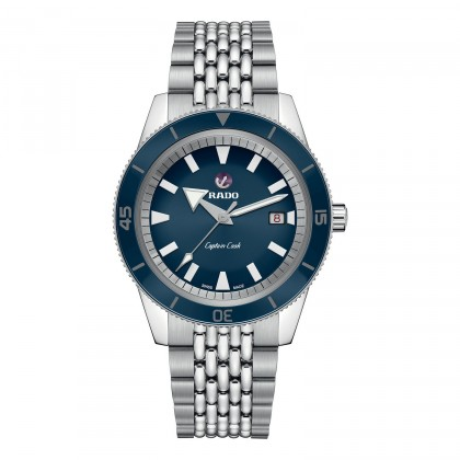 Rado Captain Cook Blue Dial Men's Watch