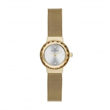 Skagen Leonora Stainless Steel Mesh Women's Watch