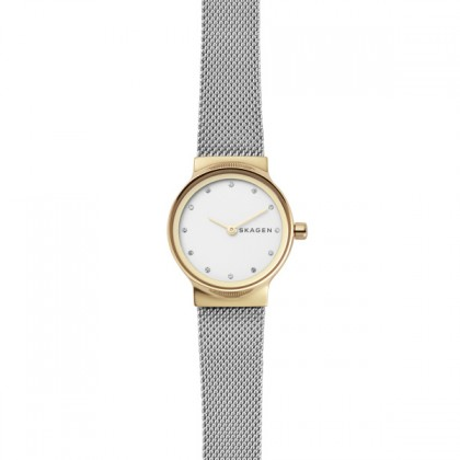 Skagen Freja Yellow Gold Case Women's Watch