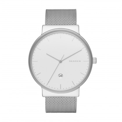 Skagen Ancher Stainless Steel Band Stainless Steel Men's Watch