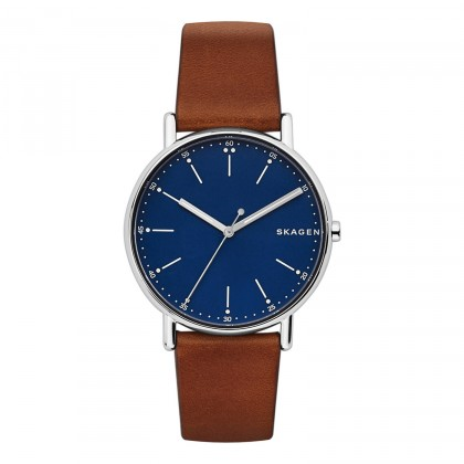 Skagen Signatur Blue Dial Men's Watch