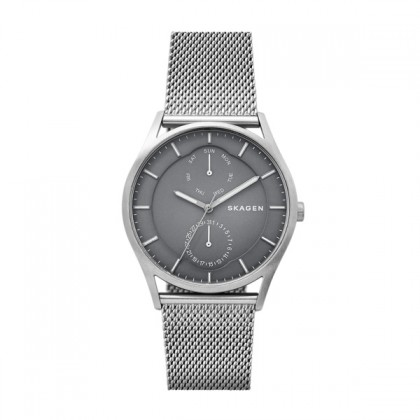 Skagen Holst Stainless Steel Watch w/ Silver Stainless Steel Band