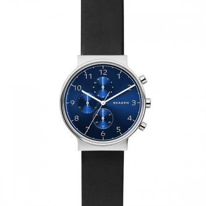 Skagen Ancher Blue Dial Men's Watch