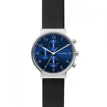 Skagen Ancher Blue Dial Men's Watch