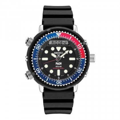 Seiko PADI Special Edition Arnie Solar Diver Watch SNJ027