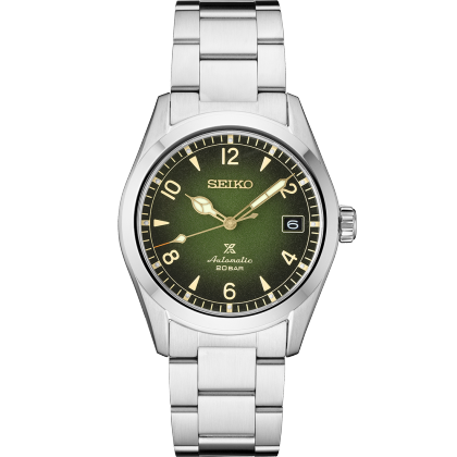 Seiko Prospex Alpinist Automatic Green DIal Stainless Steel Watch