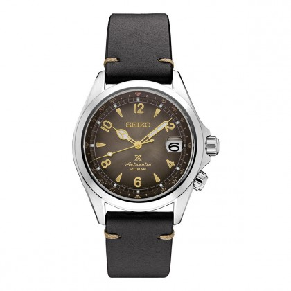 Seiko Prospex Alpinist Automatic Brow DIal Stainless Steel Watch