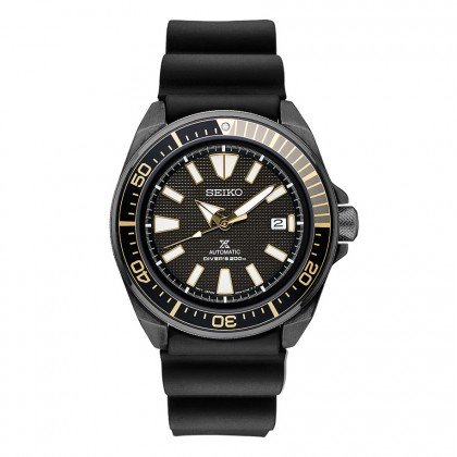 Seiko Prospex Silicone Band Automatic Stainless Steel Watch SRPB55