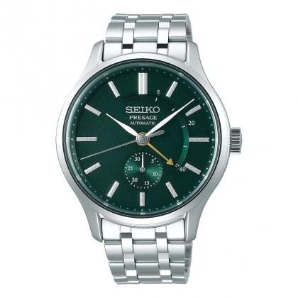 Seiko Presage Automatic Dress Watch Green Dial