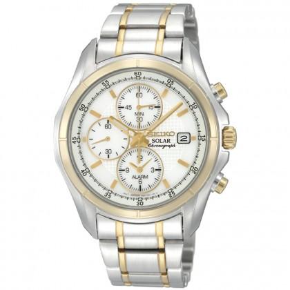 Seiko Men's Solar Chronograph Classic Dress Watch
