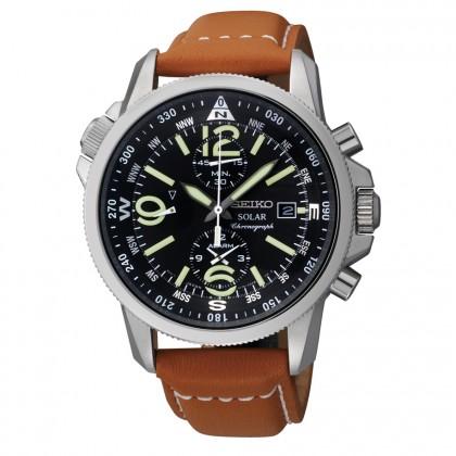 Seiko Men's Adventure-Solar Classic Casual Watch