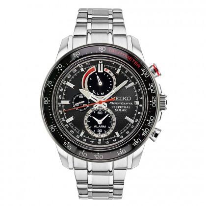 Seiko Sportura Solar Perpetual Chronograph Men's Watch SSC357