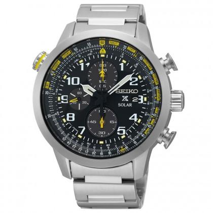Seiko Prospex Solar Flight Computer Men's Watch SSC369