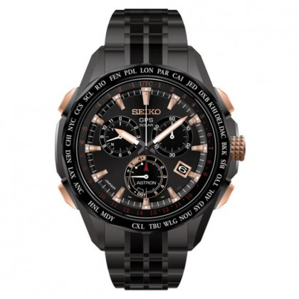 Seiko Astron GPS Black Titanium Limited Edition Men's Watch