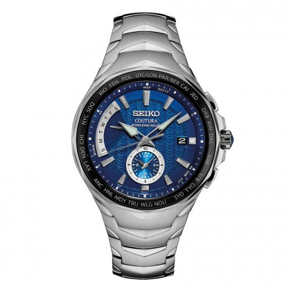 Seiko Coutura Radio-Controlled Solar Stainless Steel Watch SSG019