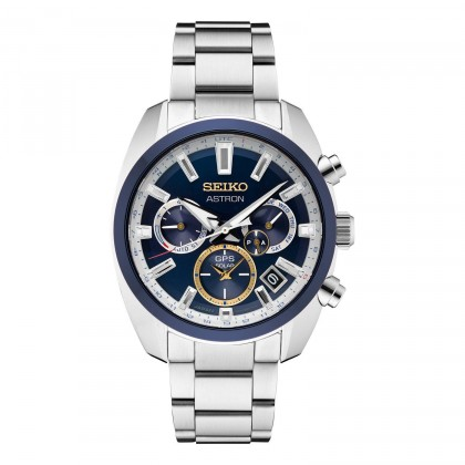 Seiko Astron GPS Solar Limited Edition Blue Dial Stainless Steel Watch