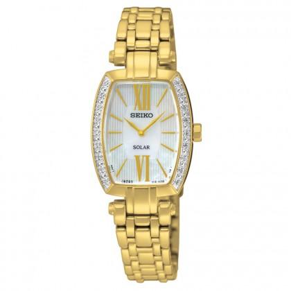Seiko Tressia Solar Diamond Women's Watch SUP286