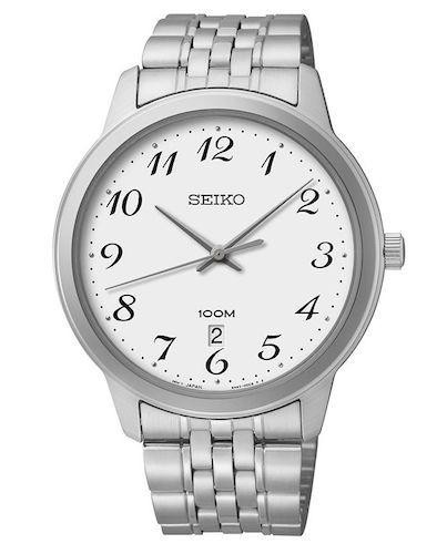 Seiko Stainless Steel Men's Watch