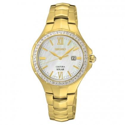 Seiko Coutura Solar Diamond Women's Watch SUT242