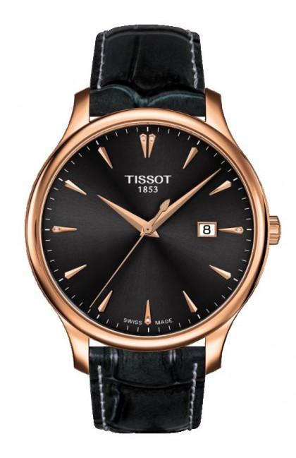 Tissot Tradition Rose Gold Men's Quartz Watch
